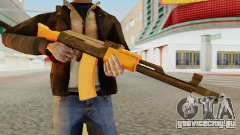 AK-74 SA Style для GTA San Andreas третий скриншот