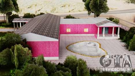 Новые текстуры клуба в Лас Вентурасе для GTA San Andreas