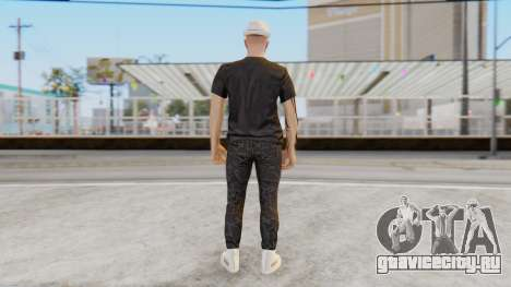 Personalized Skin from GTA Online для GTA San Andreas третий скриншот