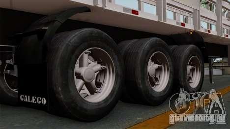 Trailer Rejas Gas для GTA San Andreas вид сзади слева