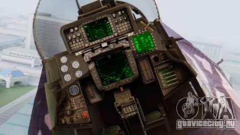 F-14D Zipang для GTA San Andreas вид сзади