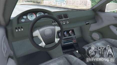 BMW M3 GTR E46 Most Wanted для GTA 5 вид сзади справа