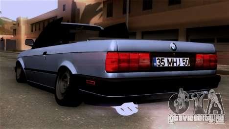 BMW M3 E30 Cabrio для GTA San Andreas вид слева