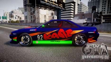 Nissan Silvia S14 для GTA 4 вид слева