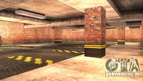 Doherty Garage Retexture для GTA San Andreas третий скриншот