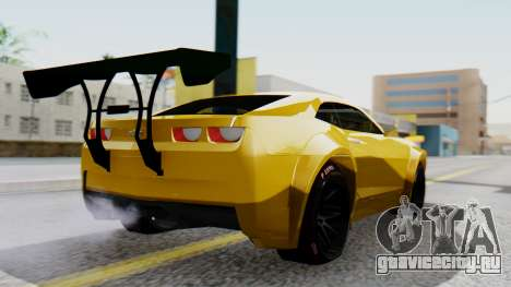 Chevrolet Camaro GT для GTA San Andreas вид слева