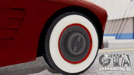 Ascot Bailey S200 from Mafia 2 для GTA San Andreas вид сзади слева