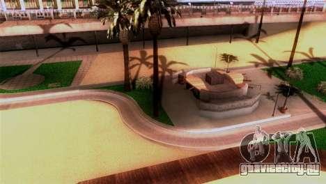 Новый пляж в Лос Сантосе для GTA San Andreas второй скриншот