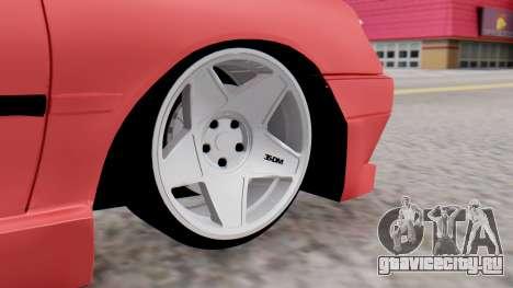 Peugeot 306 GTI для GTA San Andreas вид сзади слева