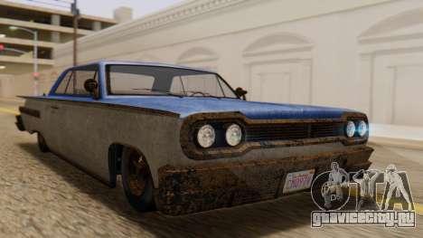 GTA 5 Declasse Voodoo Worn IVF для GTA San Andreas