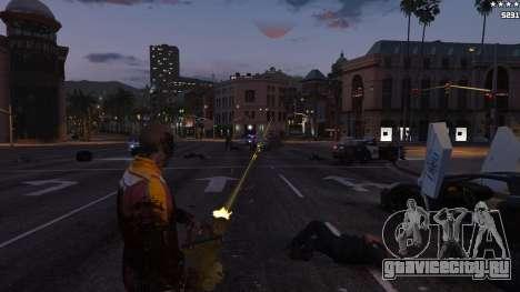 Лазерный прицел для GTA 5 седьмой скриншот