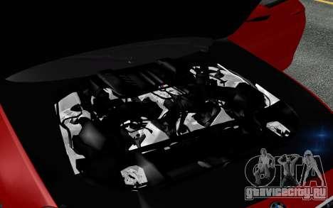 BMW M6 2013 v1.0 для GTA San Andreas двигатель