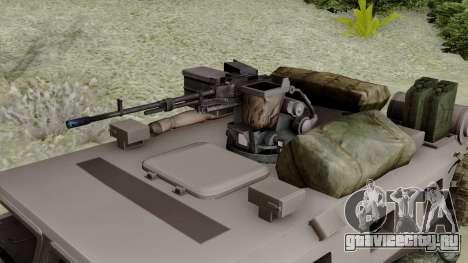 SPM-3 from Battlefiled 4 для GTA San Andreas вид справа