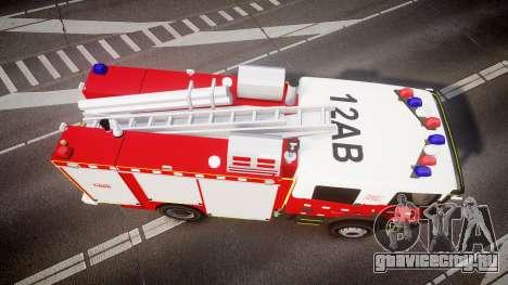 Scania 94D 260 Victorian CFA [ELS] для GTA 4 вид справа