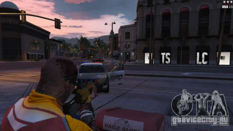 Лазерный прицел для GTA 5 четвертый скриншот