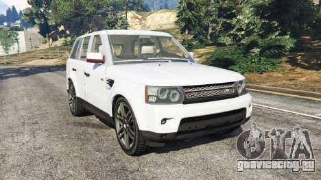Range Rover Sport 2010 v0.7 [Beta] для GTA 5
