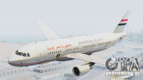 Airbus A320-200 Egyptian Air Force One для GTA San Andreas
