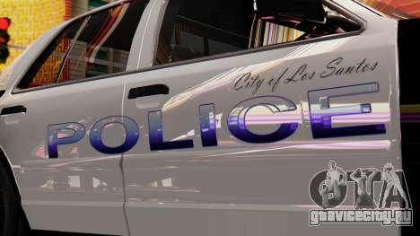 Police LS 2013 для GTA San Andreas вид справа