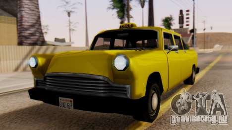 Cabbie New Edition для GTA San Andreas