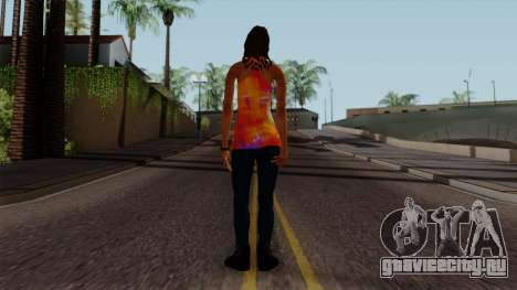 Curly Alara для GTA San Andreas третий скриншот