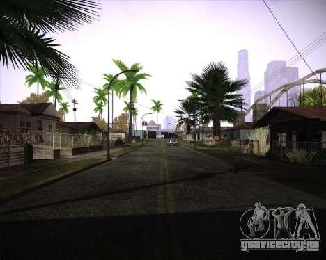 Professional Graphics Mod 1.2 для GTA San Andreas третий скриншот
