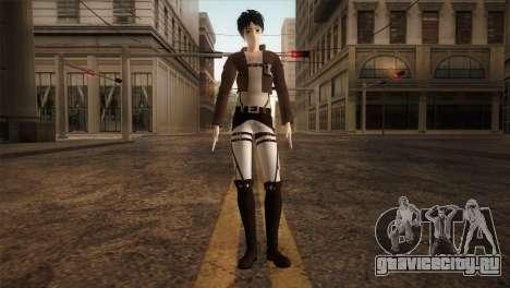 Eren Jaeger для GTA San Andreas второй скриншот