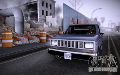 Стройка на Grove Street v0.1 Beta для GTA San Andreas второй скриншот