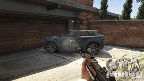 Battlefield 4 AK-12 для GTA 5 девятый скриншот
