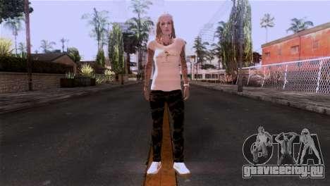Cкин девушки для GTA San Andreas второй скриншот