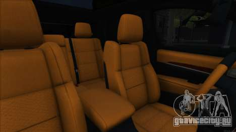 Jeep Grand Cherokee SRT8 для GTA San Andreas вид изнутри