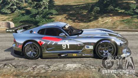 Dodge Viper GTS-R SRT 2013 [Beta] для GTA 5 вид слева