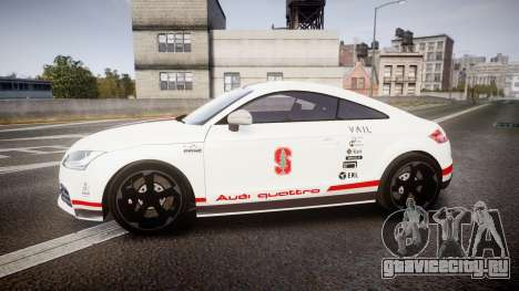 Audi TT RS 2010 Shelley для GTA 4 вид слева