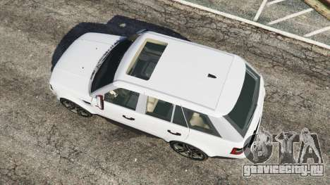 Range Rover Sport 2010 v0.7 [Beta] для GTA 5 вид сзади
