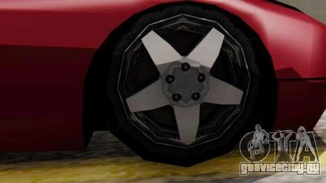 Bullet Al_Piso для GTA San Andreas вид сзади слева