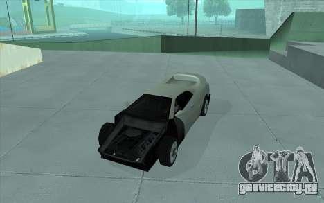 GTA 3 Infernus SA Style для GTA San Andreas вид сзади