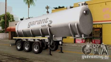 Trailer Kotte Garant для GTA San Andreas