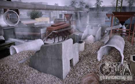 Стройка на Grove Street v0.1 Beta для GTA San Andreas третий скриншот