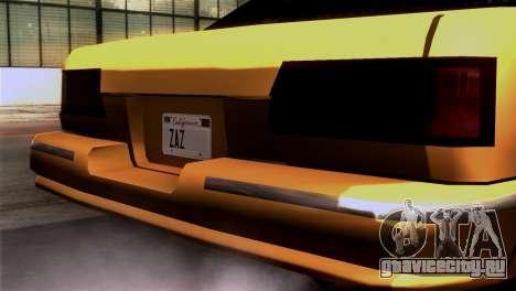 Taxi Kuruma 0.9 для GTA San Andreas вид справа