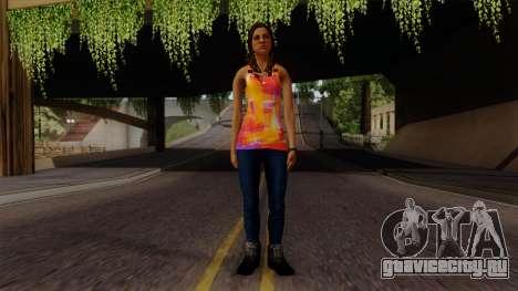 Curly Alara для GTA San Andreas второй скриншот