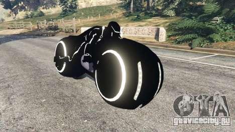 Tron Bike white для GTA 5