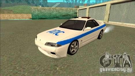 Nissan Skyline R32 Russian Police для GTA San Andreas