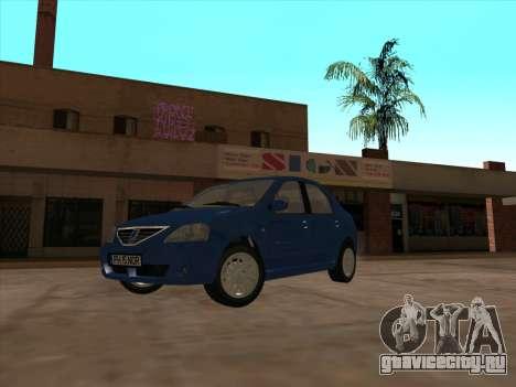 Dacia Logan Prestige для GTA San Andreas вид слева