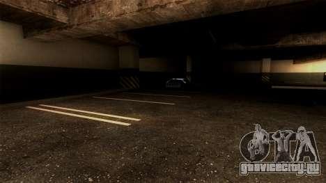 Новая парковка LSPD для GTA San Andreas четвёртый скриншот