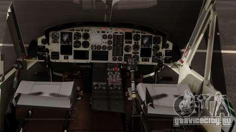 Bell UH-1N NAJA для GTA San Andreas вид справа