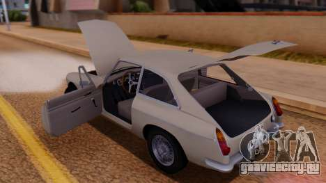 MGB GT (ADO23) 1965 IVF АПП для GTA San Andreas вид сбоку