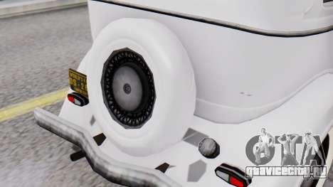 Smith V8 from Mafia 2 для GTA San Andreas вид сзади
