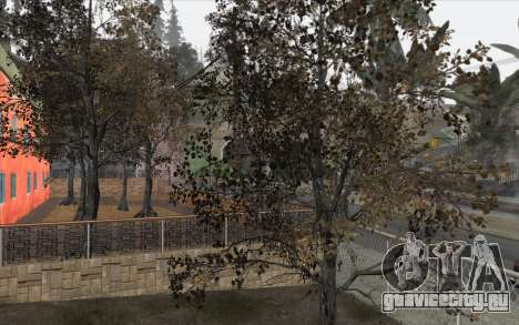 Деревья из WarFace для GTA San Andreas третий скриншот