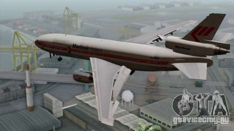 DC-10-30 Martinair для GTA San Andreas вид слева