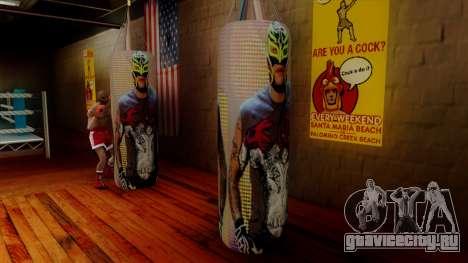 Груша с Реем Мистерио для GTA San Andreas второй скриншот
