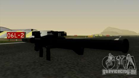 Homing Rocket Launcher для GTA San Andreas третий скриншот
